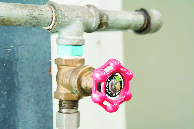 Tipos de v lvulas de agua todo ferreteria for Llave de paso de agua