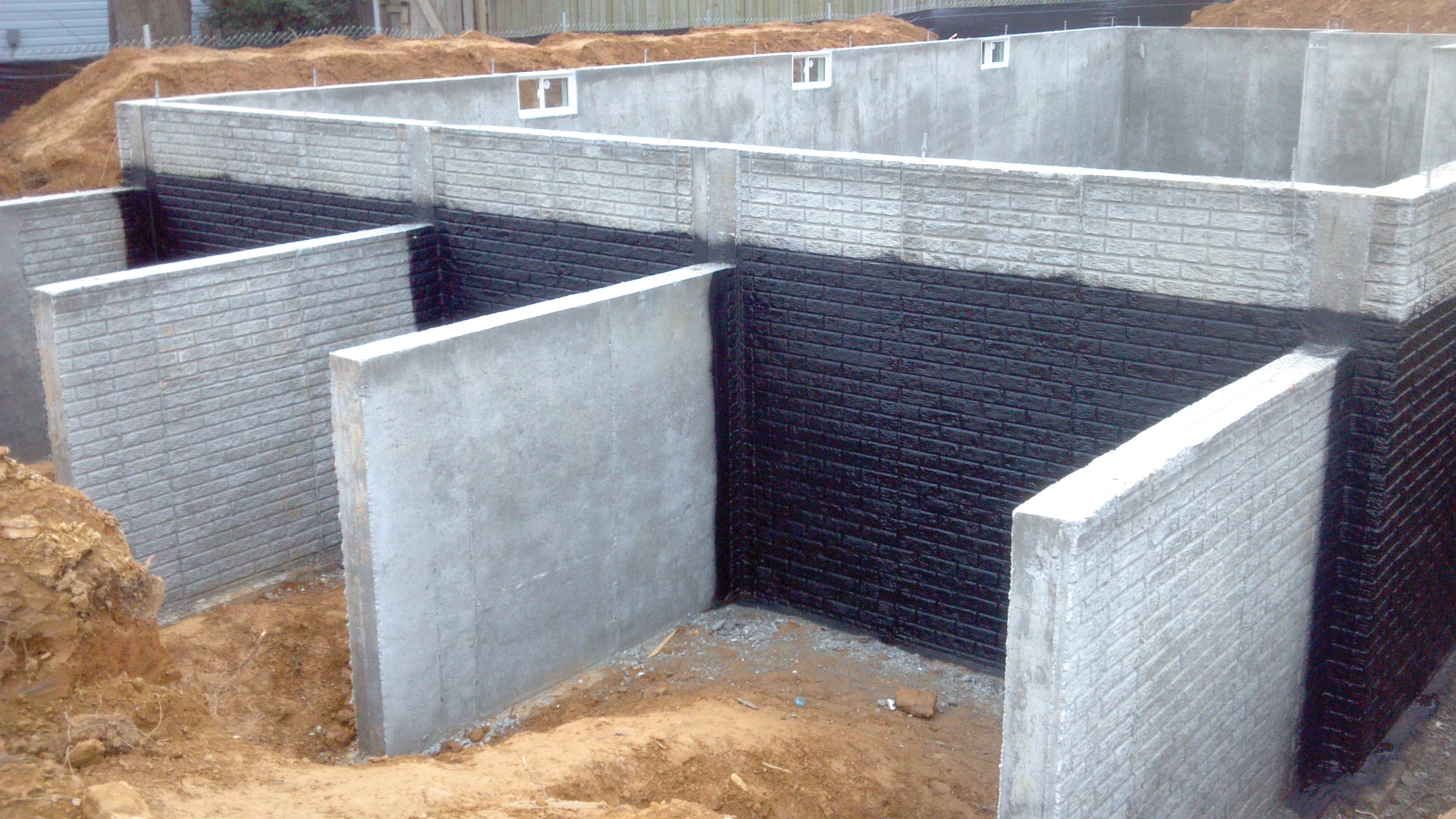 Impermeabilizaci n de los cimientos todo ferreteria for Contacto para exterior
