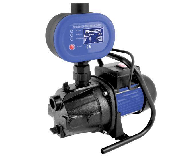 Bomba toolcraft para agua con presurizador todo ferreteria for Poca presion de agua