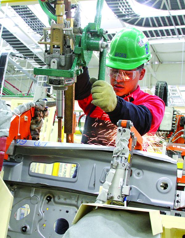 Procesos de manufactura de planta Aguascalientes 2.