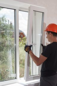 male construction sets of metal and plastic window