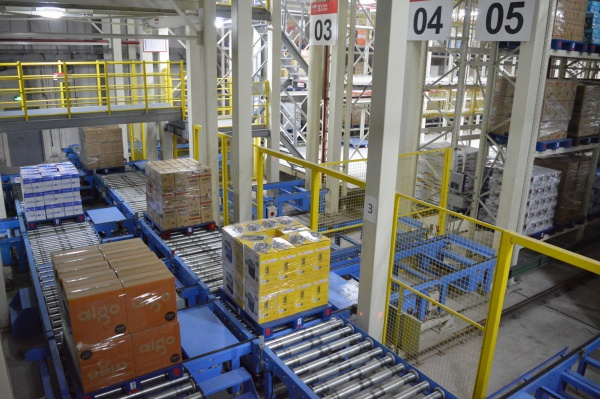 JD.com launched the initial phase of its Asia No. 1 Shanghai warehouse on October 20, 2014 (PRNewsFoto/JD.com, Inc.)
