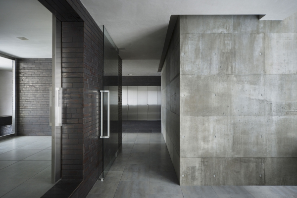 concrete-office-interior-home-of-and-finishes-images-awesome-dark-scheme-for-diy-brick-wall-design-idea-excerpt