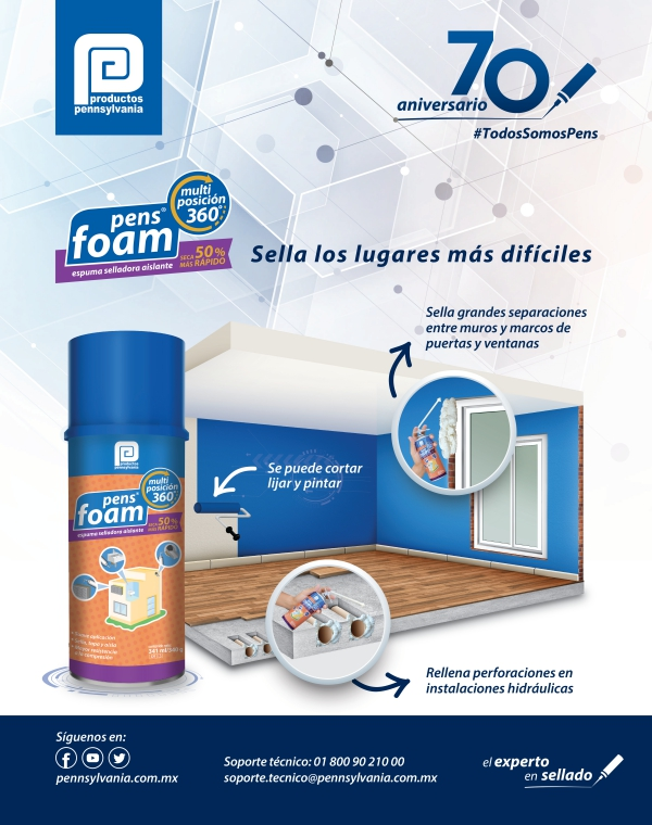 pens foam