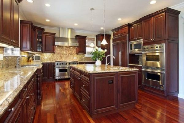 cocina-con-piso-de-madera